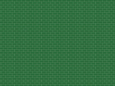 Fototapet R14863 Bistro Tiles, Green imagine 1 de Rebel Walls