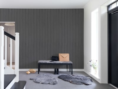 Fototapet R14722 Swedish Cottage, Grey imagine 1 de Rebel Walls