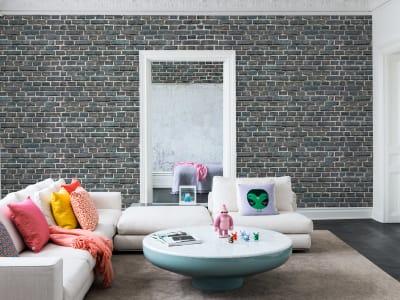 Mural de pared R14842 Top Floor, Tiles imagen 1 por Rebel Walls
