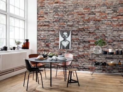 ミューラル壁紙 R14821 Brickwork 画像 1 by Rebel Walls