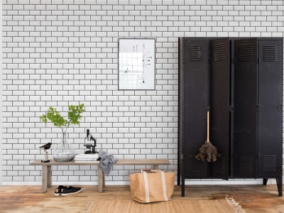 Tapet R14861 Bistro Tiles bilde 1 av Rebel Walls
