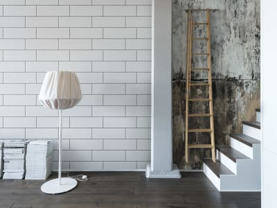 Mural de pared R14892 Oblong Tiles imagen 1 por Rebel Walls