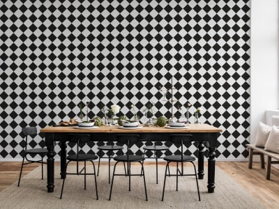ミューラル壁紙 R14881 Diamond Tiles 画像 1 by Rebel Walls