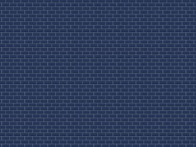 ミューラル壁紙 R14864 Bistro Tiles, Royal Blue 画像 1 by Rebel Walls