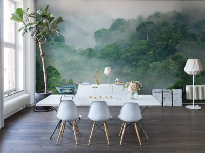 Wall Mural R15062 Misty Forest image 1 by Rebel Walls