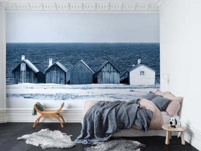Фотообои R13691 Boathouse Blues изображение 1 от Rebel Walls