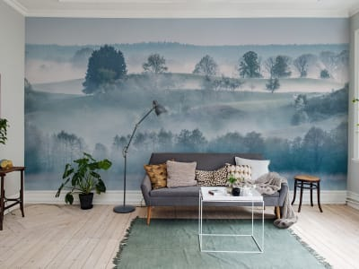 Mural de pared R15291 Morning Haze imagen 1 por Rebel Walls