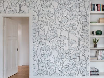 Mural de pared R15331 Animal Tree imagen 1 por Rebel Walls