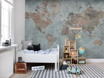 Décor Mural R15351 Around The World image 1 par Rebel Walls