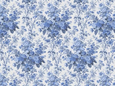 Wall Mural R13255 Porcelain, Blue image 1 by Rebel Walls