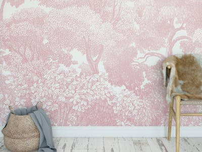 Tapetl R13057 Bellewood, Pink bild 1 från Rebel Walls
