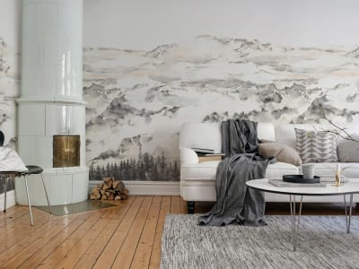 Wall Mural R15421 Hope Mountains image 1 by Rebel Walls