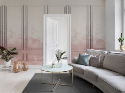 Wall Mural R15381 Patinated Panels image 1 by Rebel Walls