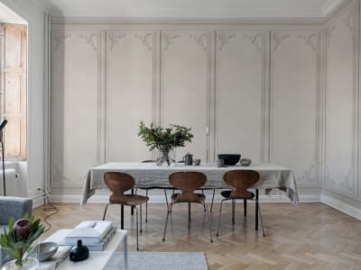 Wall Mural R15441 FRENCH PANELS, ASHES image 1 by Rebel Walls