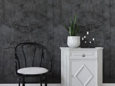 Wall Mural R15462 NOBLE FLAIR, NOIR image 1 by Rebel Walls