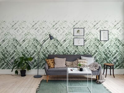 Wall Mural R12894 DREAM WEAVER, VERDE image 1 by Rebel Walls