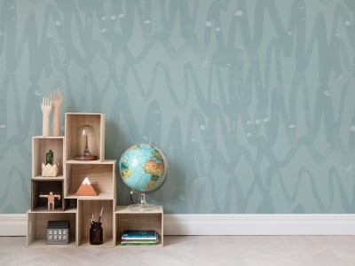Wall Mural R14094 PULSE OF PASSION, MINT image 1 by Rebel Walls