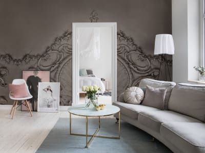 Mural de pared R15482 STUCCO GLORIA, CLAY imagen 1 por Rebel Walls