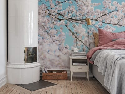 Mural de pared R15541 CHERRY TREE imagen 1 por Rebel Walls