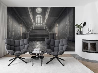 Mural de pared R15641 Time Loop imagen 1 por Rebel Walls