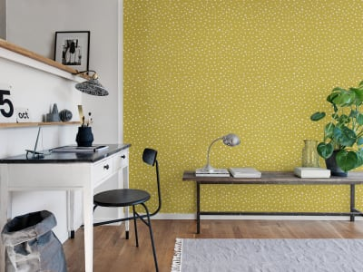 Tapeta ścienna R15752 Rebel Dot, Papaya obraz 1 od Rebel Walls