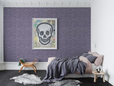 Mural de pared R15754 Rebel Dot, Violet imagen 1 por Rebel Walls