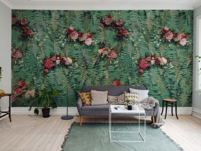 Mural de pared R15801 Unfading Flowers imagen 1 por Rebel Walls