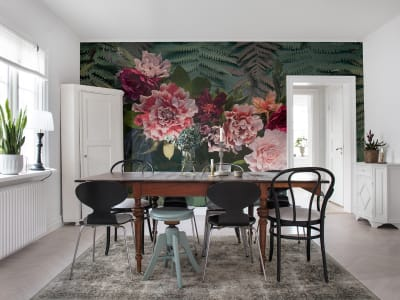 Mural de pared R15802 Unfading Flowers, Colossal imagen 1 por Rebel Walls
