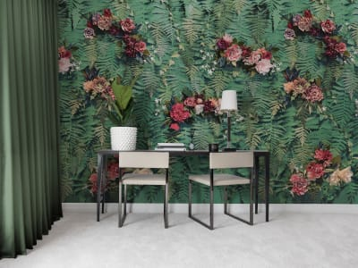 Wall Mural R15801 Unfading Flowers image 1 by Rebel Walls