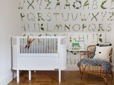 Behang Kinderkamer Regenboog : Kinderkamer rebel walls