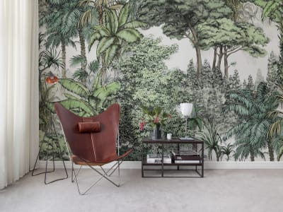 Mural de pared R14703 Secret Garden, Lush imagen 1 por Rebel Walls
