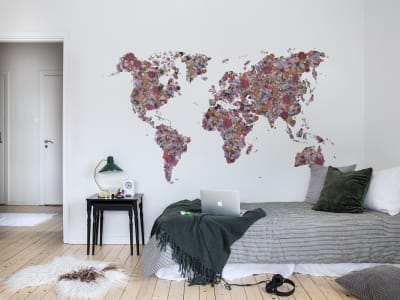 Mural de pared R15821 Floral World imagen 1 por Rebel Walls