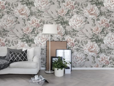 Wall Mural R15851 Nude Roses image 1 by Rebel Walls