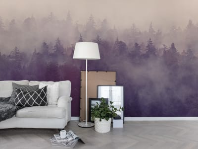 Mural de pared R16001 Fir Forest imagen 1 por Rebel Walls