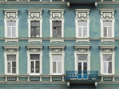 Tapetl R15892 Strada Azul bild 1 från Rebel Walls