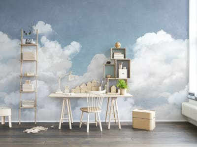 Mural de pared R14011 Cuddle Clouds imagen 1 por Rebel Walls