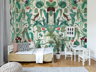 Wall Mural R16161 Cuba Jungle image 1 by Rebel Walls