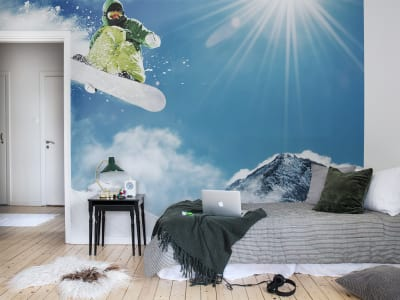 Wall Mural R11191 Snowboard image 1 by Rebel Walls