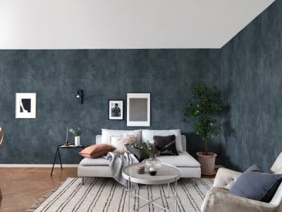Tapete R15991 Fresco Wall, Blue Bild 1 von Rebel Walls