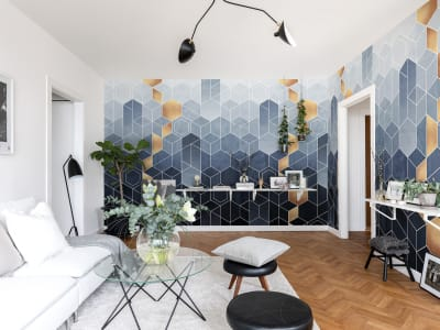 Wall Mural R16291 Gradient Geometry image 1 by Rebel Walls