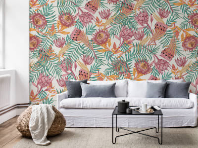 Mural de pared R16551 Desert Flower imagen 1 por Rebel Walls