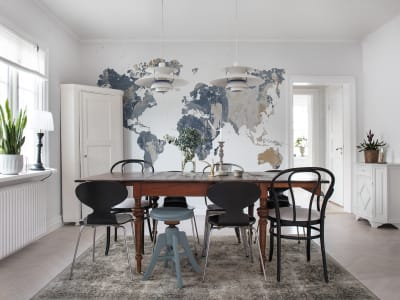 Tapete R13924 Your Own World, Battered Wall Bild 1 von Rebel Walls
