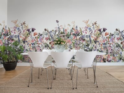 Mural de pared R14532 May Meadow, Pastel imagen 1 por Rebel Walls