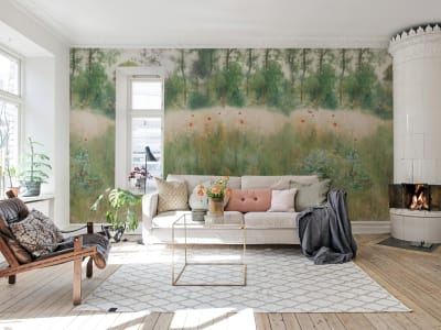 Wall Mural R16571 Midsommar image 1 by Rebel Walls