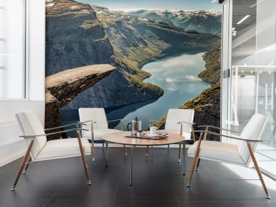 Wall Mural R16461 Trolltunga image 1 by Rebel Walls