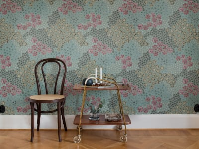 Mural de pared R16702 Perennials, Evening imagen 1 por Rebel Walls
