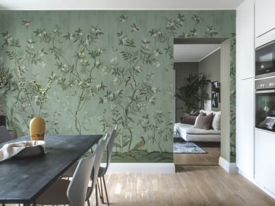 Tapetl R16742 Chinoiserie Chic, Jade bild 1 från Rebel Walls