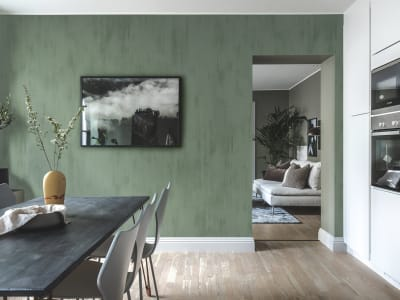 Tapete R16752 Brushstrokes, Jade Bild 1 von Rebel Walls