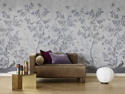 Fototapet R16741 Chinoiserie Chic, Pearl Gray imagine 1 de Rebel Walls