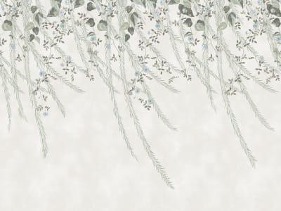 Tapete R16781 Lush Foliage, Sage Tint Bild 1 von Rebel Walls